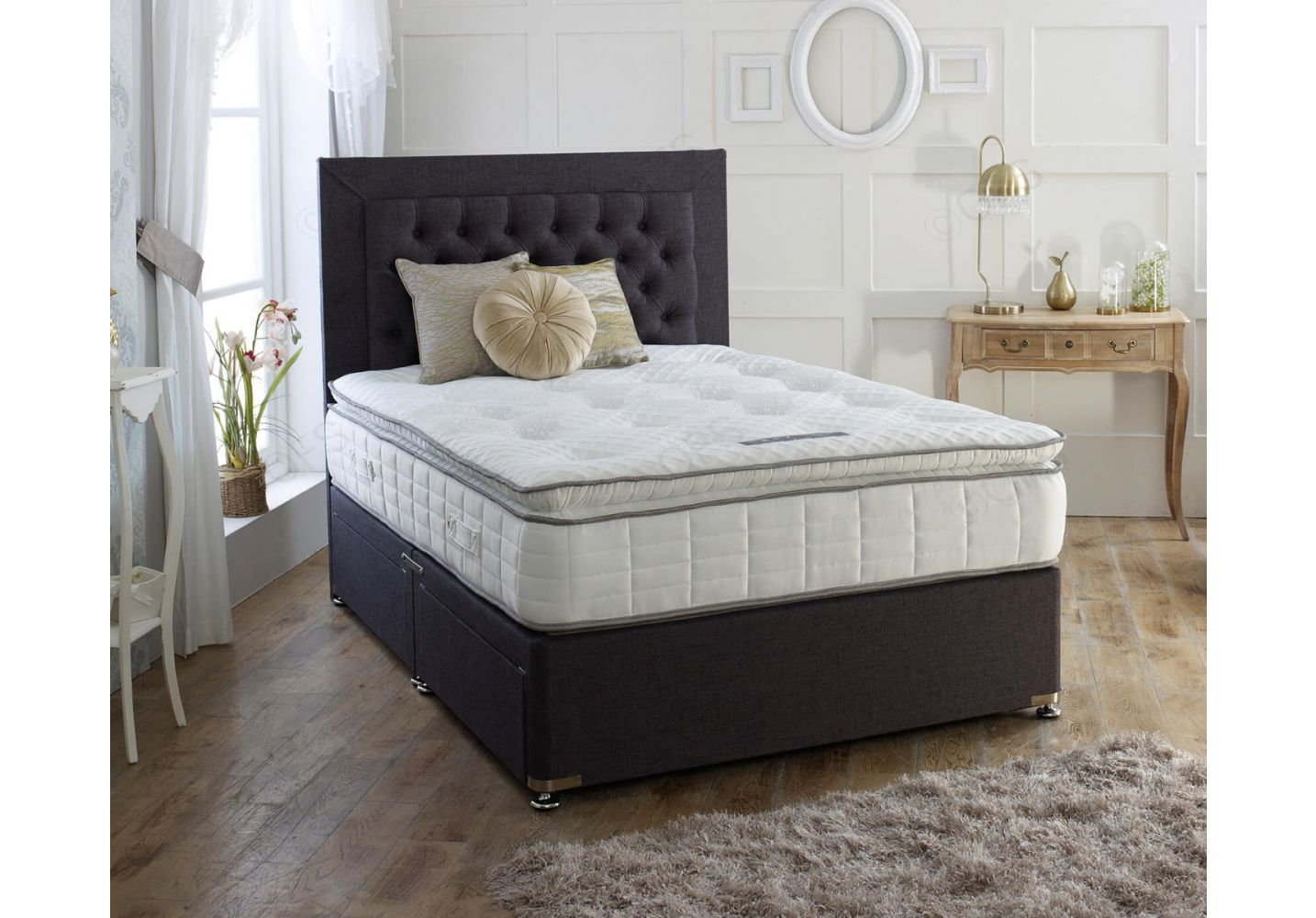 Beds Glasgow - Tiree Divan Bed Set